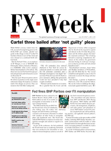 FX Week cover – 24 Jul 2017