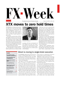 FX Week cover – 14 August 2017
