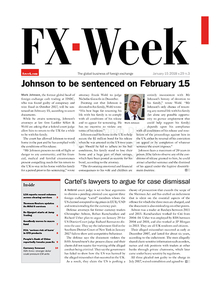 FX Week cover – 15 Jan 2018