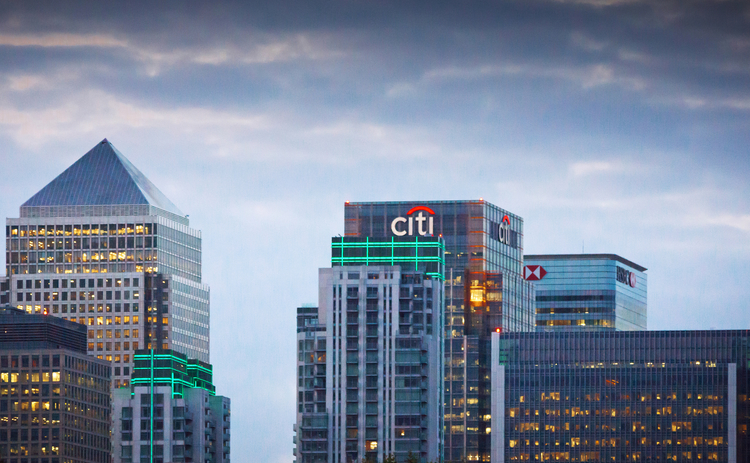 Citi - Canary Wharf - Getty