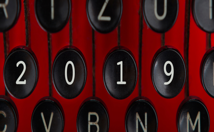 2019 typewriter keys - Getty
