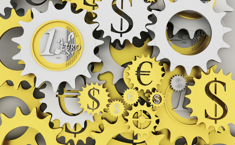 Currency dollar euro cogs