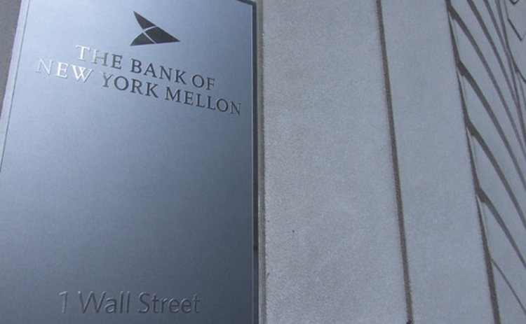 Bank of New York Mellon on Wall Street